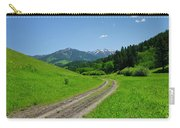 Lane View Of Crazy Mountains Carry-all Pouch