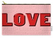 Language Of Love 4 Carry-all Pouch