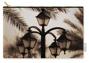 Lanterns And Fronds Carry-all Pouch