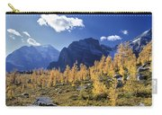 Larch Trees From The Saddleback Trail Carry-all Pouch