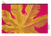 Large Leaf Photoart Carry-all Pouch