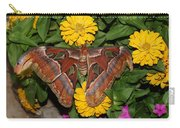 Large Moth Carry-all Pouch
