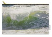 Large Waves On The Coast Of Maine Carry-all Pouch