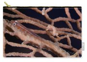 Large Whip Goby And Pygmy Seahorse Carry-all Pouch