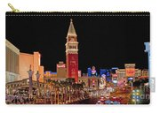Las Vegas Canvas Panorama Carry-all Pouch