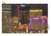 Las Vegas Nevada Carry-all Pouch by Nicholas  Grunas