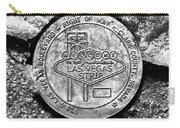 Las Vegas Strip Street Medallion Carry-all Pouch