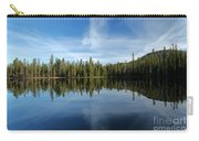 Lassen Summit Lake Reflections Carry-all Pouch