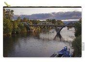 Last Light On Caveman Bridge Carry-all Pouch