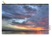 Last Light Over The Lake Carry-all Pouch