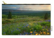 Last Light Over The Wenas Carry-all Pouch