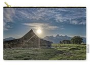 Late Evening At Moulton Barn Carry-all Pouch