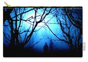 Late Full Moon Walk In The Wild Forest Carry-all Pouch