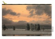 Late Spring Storm In Yellowstone Carry-all Pouch