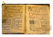 Latin Hymnal 1700 Ad Carry-all Pouch