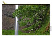 Latourell Falls Oregon - Posterized Carry-all Pouch