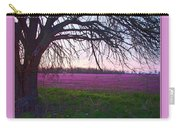 Lavander Morning Carry-all Pouch