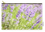 Lavender Blooming In A Garden Carry-all Pouch