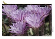 Lavender Cactus Flowers Carry-all Pouch