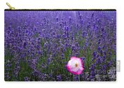 Lavender Field With Poppy Carry-all Pouch