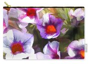 Lavender Million Bells Flowers Carry-all Pouch