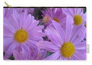 Lavender Mum Bouquets Carry-all Pouch