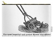 Lawn Mower Ad, 1878 Carry-all Pouch