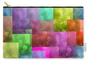 Layered Tiles Abstract Carry-all Pouch