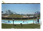 Lazy River Panorama At A Water Park Carry-all Pouch