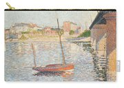 Le Clipper - Asnieres Carry-all Pouch by Paul Signac