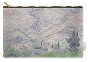 Le Ragas Near Toulon Carry-all Pouch by Camille Pissarro