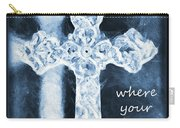 Lead Me To The Cross With Lyrics Carry-all Pouch