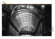 Leadenhall Market Black And White Carry-all Pouch