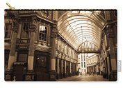 Leadenhall Market London Sepia Toned Image Carry-all Pouch