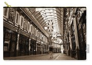 Leadenhall Market London With  Carry-all Pouch