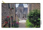 Leading To The Church Provence France Carry-all Pouch