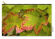 Leaf Design Carry-all Pouch