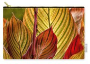 Leaf Lines Carry-all Pouch