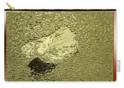 Leaf Mytallique Carry-all Pouch