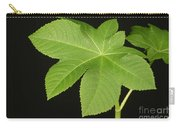 Leaf Of Castor Bean Plant Carry-all Pouch