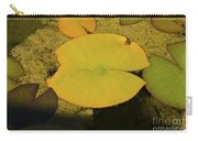 Leaf On A Pond Carry-all Pouch