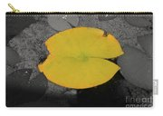 Leaf On A Pond II Carry-all Pouch