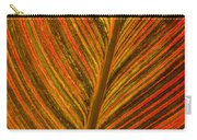 Leaf Pattern Abstract Carry-all Pouch