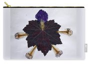 Leaf With Petals Carry-all Pouch
