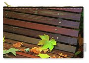Leafs In Bench Carry-all Pouch