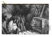League Of Rats, 1868 Carry-all Pouch by Granger