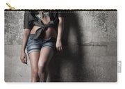 Lean Against The Wall Carry-all Pouch