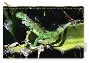 Leapin Lizards Carry-all Pouch by Karen Wiles