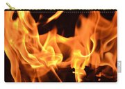 Leaping Flames Carry-all Pouch