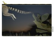 Leaping Ring-tailed Lemur  Carry-all Pouch